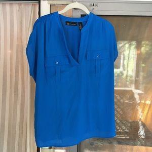 INC cap sleeves top